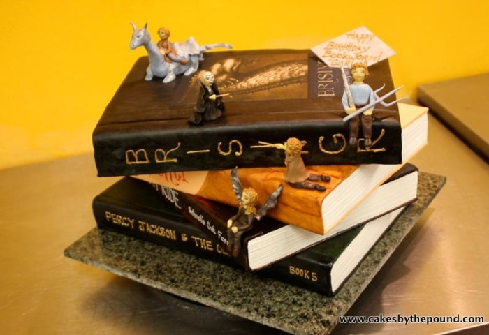 Fantasy Books Cake What We Have Here Is A Cake Made To Loo Flickr