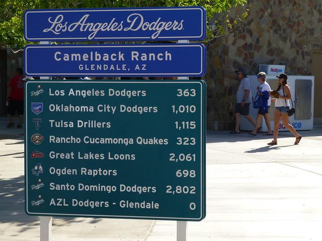 Glendale, AZ Camelback Ranch - Dodgers vs Brewers