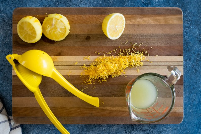 lemon juice and zest fill every bite with flavor