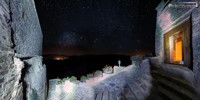 Starry sky above the Kasbah Tizourgane