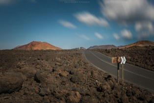Lanzarote - The way to Timanfaya