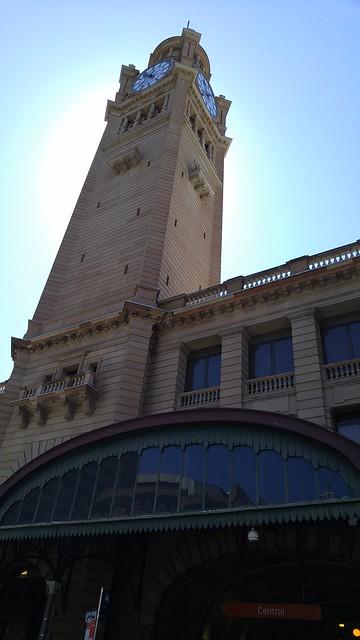 Clock tower, Central Railway Station, Sydney