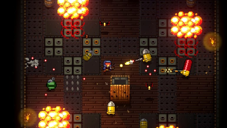 Enter the Gungeon play at home