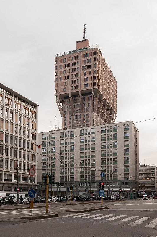 Torre Velasca Milano Milano Piazza Velasca Torre