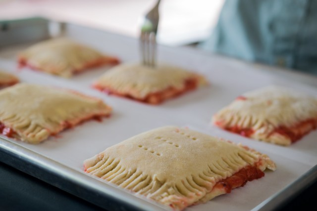 making vents in the hand pies