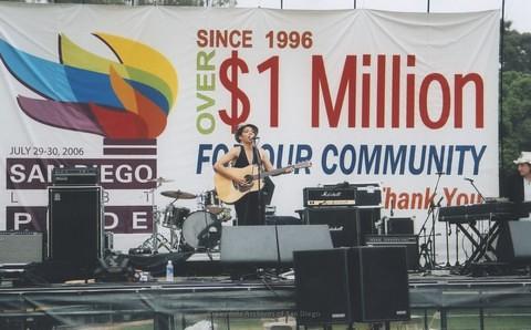 Main Stage at San Diego LGBTQ Pride Festival, 2006