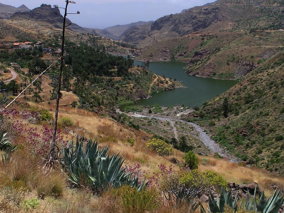 Presa de Tirajana o La Sorrueda Isla de Gran Canaria 161