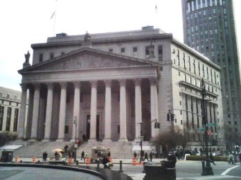 Supreme Court building, New York County