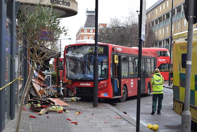 Camden Bus Crash