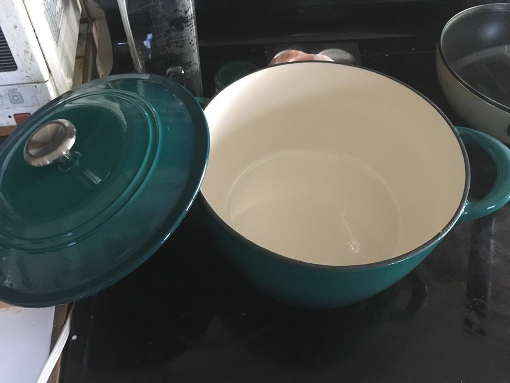 decided I needed a new enameled cast iron. what should I make first?