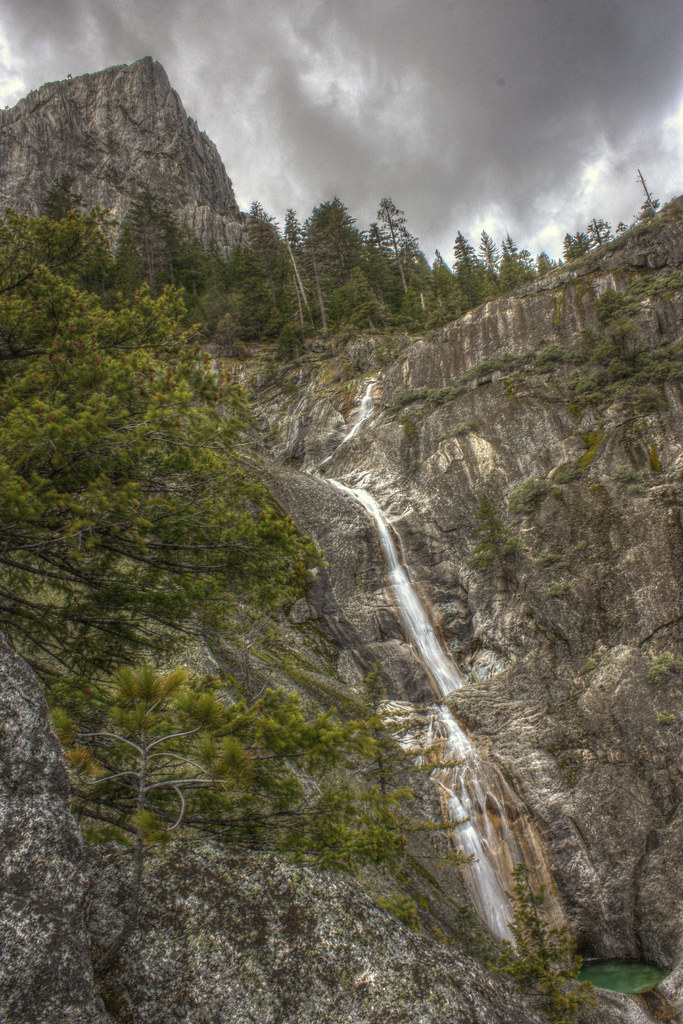 Root Creek Falls in Northern California's Castle Crags State Park