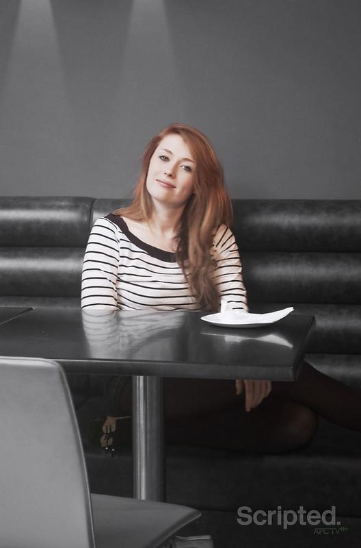 Kiryn in the Cafe