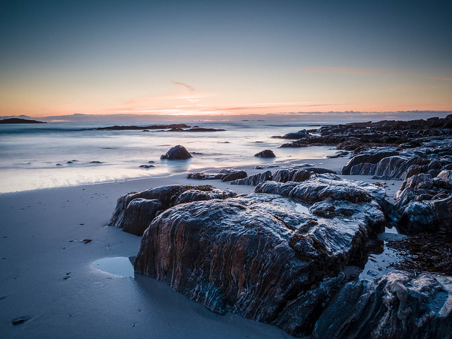 Rocks at Traigh Stir, North Uist