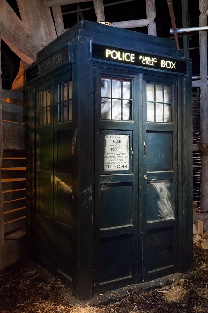 The War Doctor S Tardis Doctor Who Experience 64 Flickr
