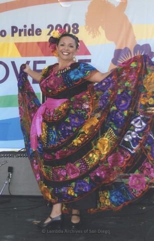 Latin Stage at San Diego LGBTQ Pride Festival, 2008