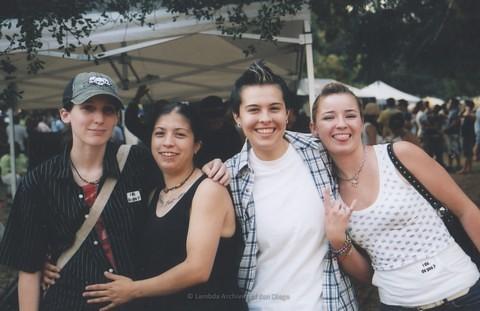 21+ Stage at San Diego LGBTQ Pride Festival, 2006