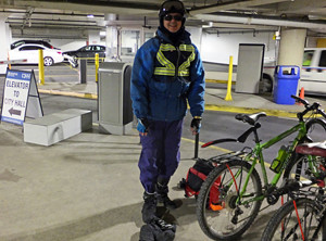 2014 11 10 David City Hall bike racks_300