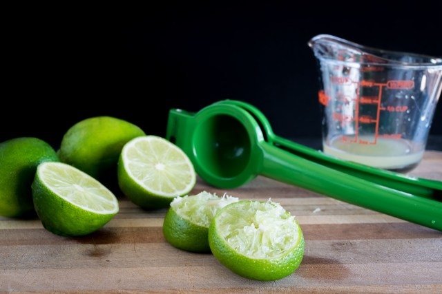 freshly-squeezed lime juice