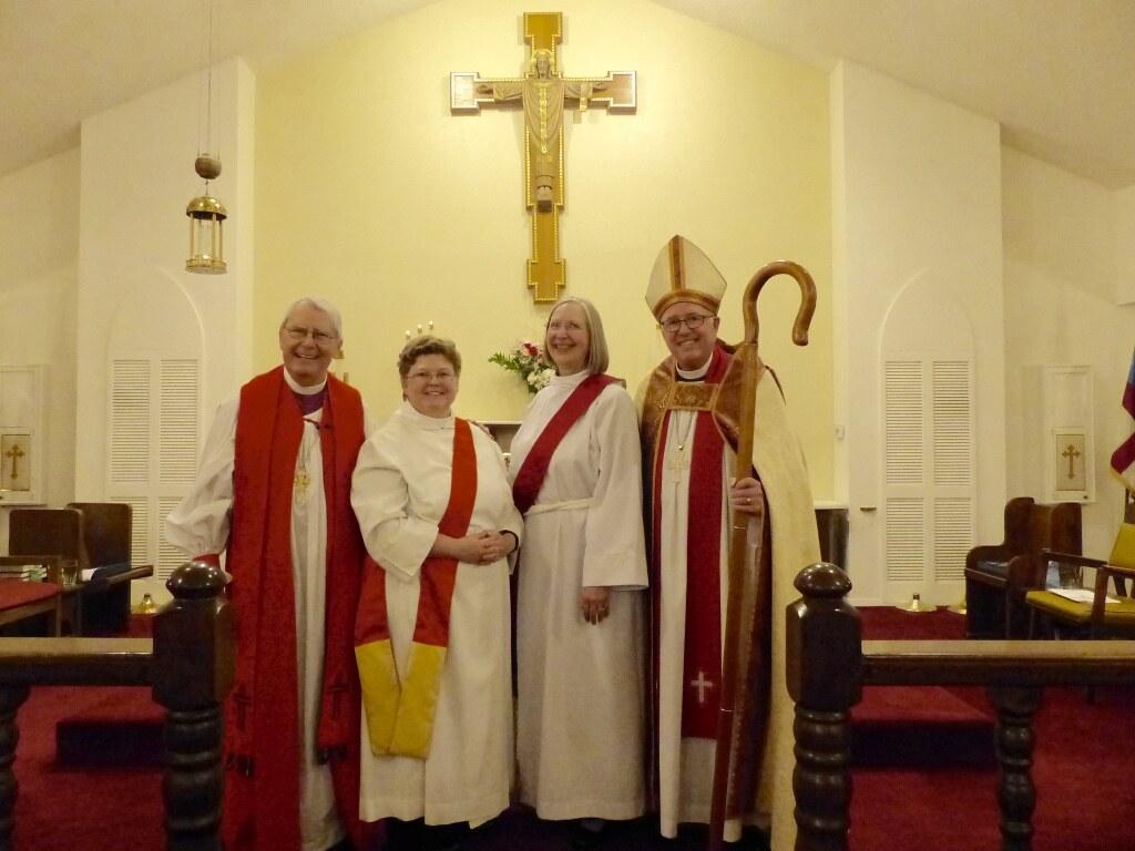 Lisa Neilson and Lynne Waltman ordained deacon