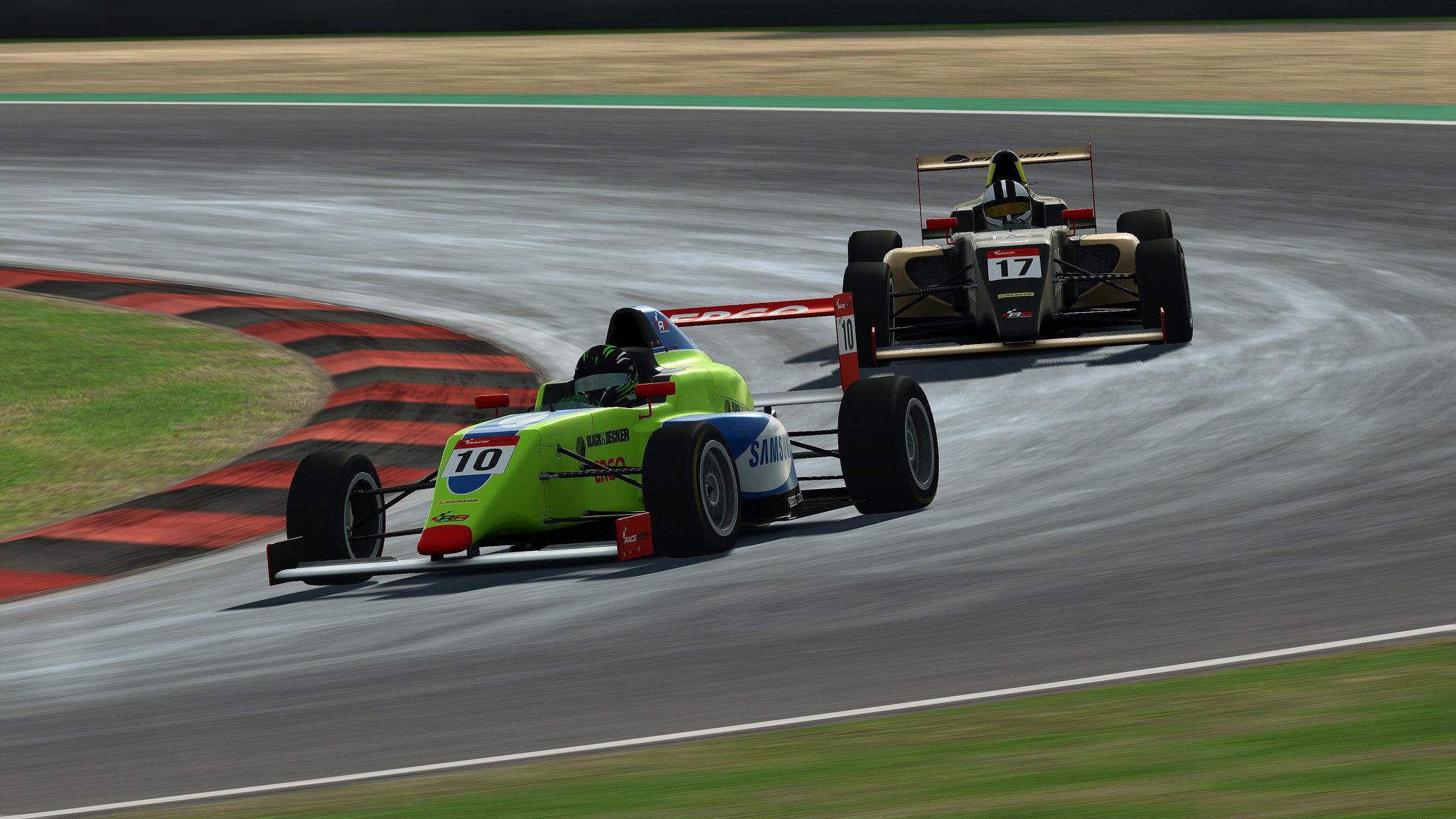 Tatuus F4 Raceroom VR Gameplay HP Reverb G2
