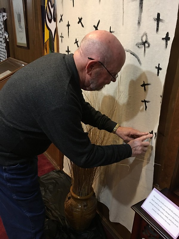 One last look at the Lenten prayer stations   St  Martin-in