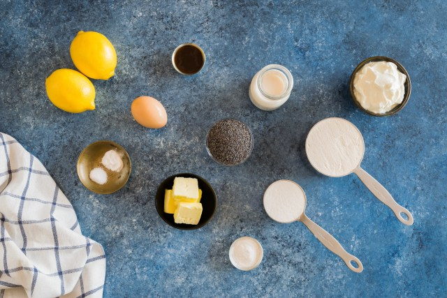 simple ingredients for a delicious breakfast