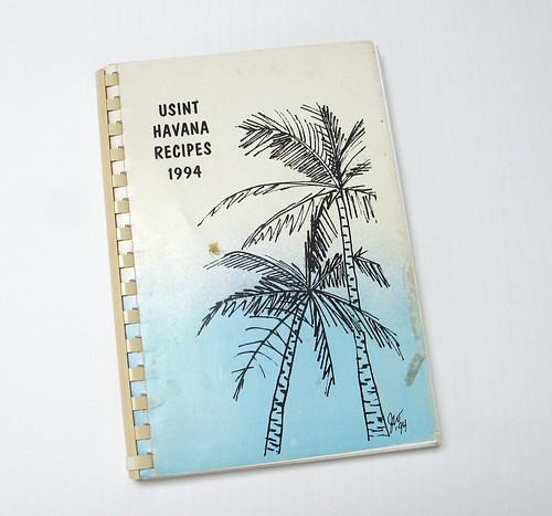 "Book, ""USINT Havana Recipes 1994"""