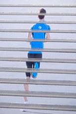 Running by steps