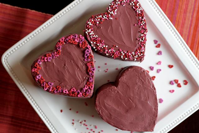 Conversation Heart Cakes - 33