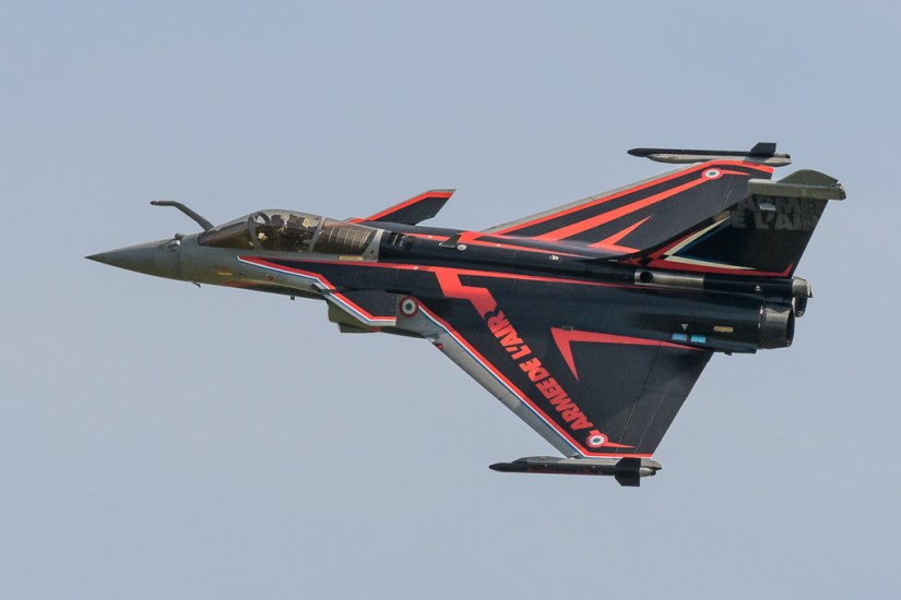 Rafale at Cosford 2018