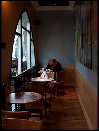 St. Jerome in Starbucks