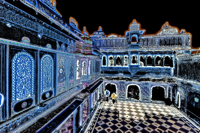 India - Rajasthan - Udaipur - City Palace - 36dd