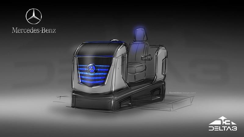 VR truck seat