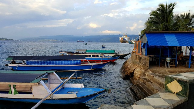 This is where the boats leave for Pulau Makassar by bryandkeith on flickr