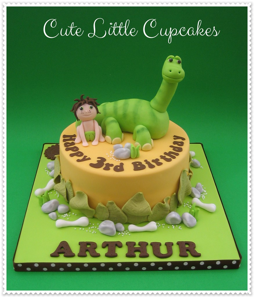 The Good Dinosaur Cake A Photo On Flickriver