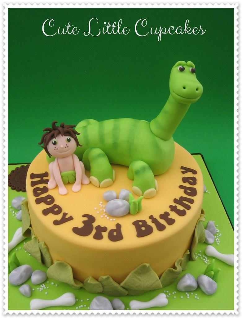 The Good Dinosaur Cake Heidi Stone Flickr