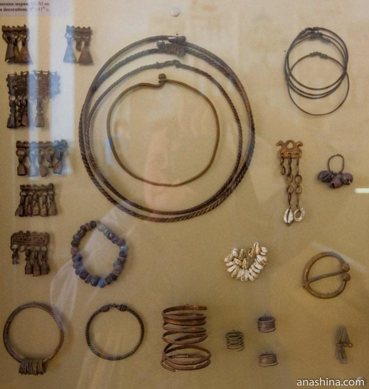 Мерянские украшения, IX-XI века