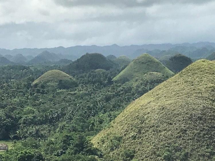 Chocolate Hills Natural Monument, Philippines