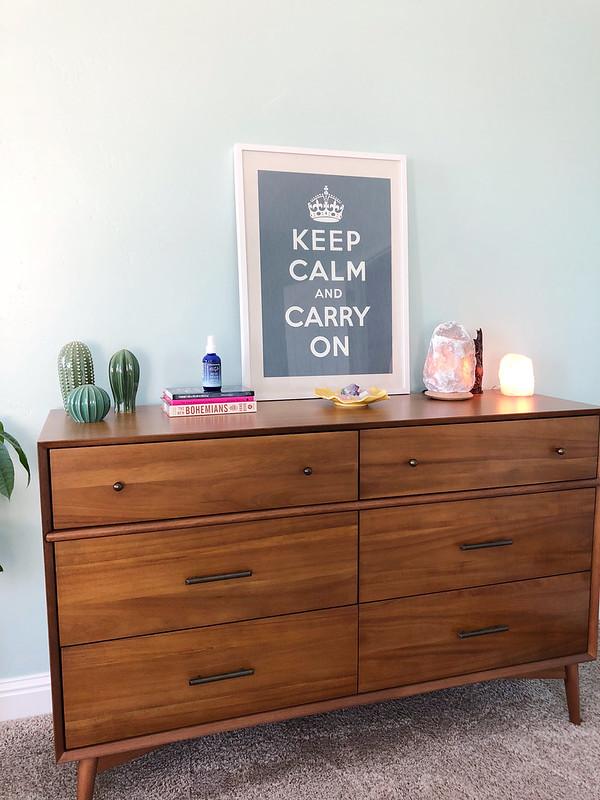 My modern boho dresser