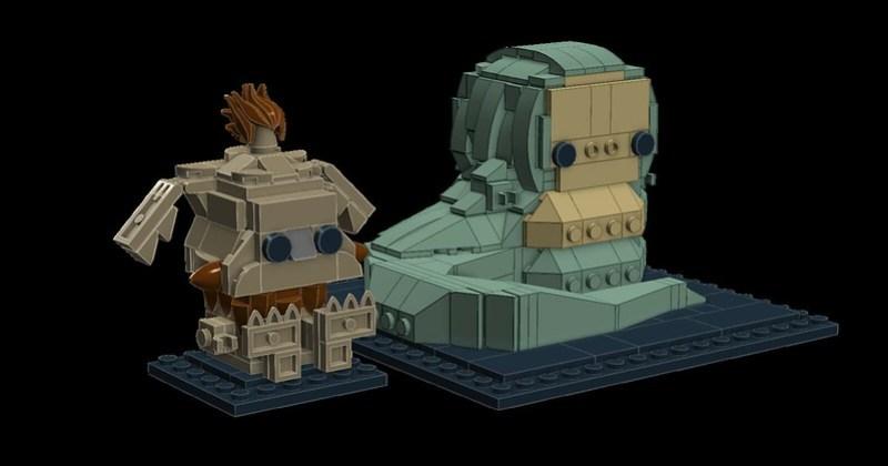 Jabba and Salacious Crumb 1