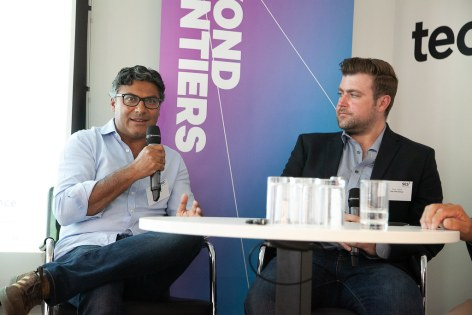 SES Ultra HD Conference 2018 - Manish Pandey, Producer and Writer, Peter Collins, Head of Scripted/Pipeline, The Farm Group