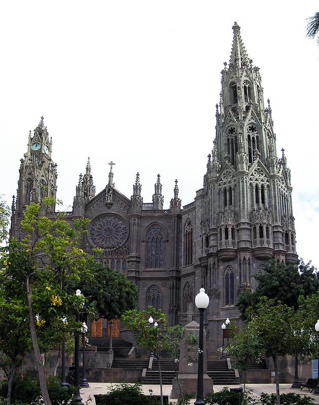 Arucas Iglesia de San Juan Bautista isla de Gran Canaria 02