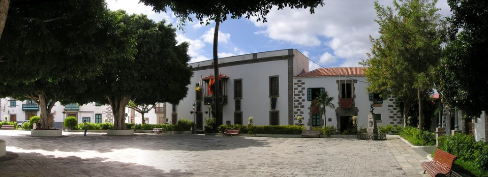 Telde Plaza de San Juan Bautista isla de Gran Canaria 01