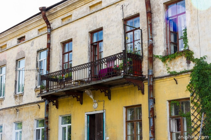Балкон, Выборг