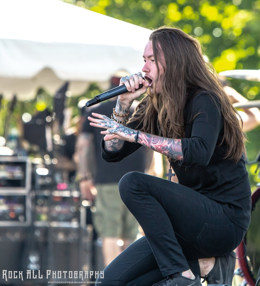 BAD OMENS - Inkcarceration Festival Day 1 - Mansfield, OH - 7/13/18