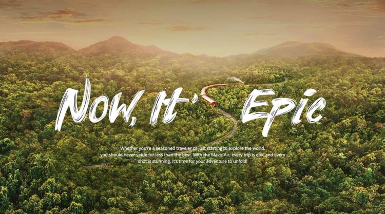 Now It's Epic DJI Drone Photo:Video Contest