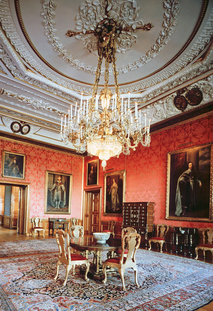 Queen S Drawing Room Windsor Castle Part Of A Set Of
