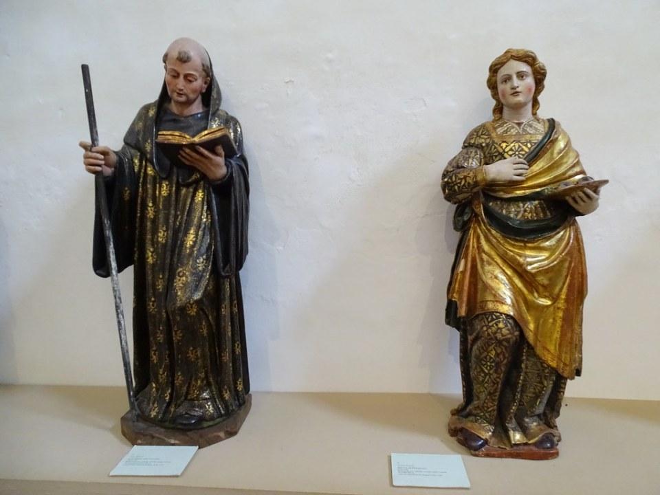 Imagen religiosa museo escultura del Real Monasterio de Santa Maria de Veruela Zaragoza 04
