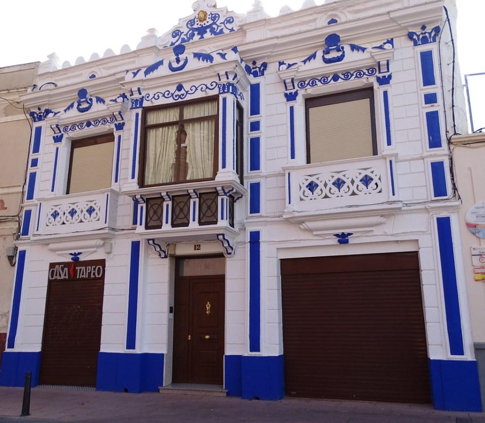 Casa modernista en calle Quiteria Alcazar de San Juan Ciudad Real 02