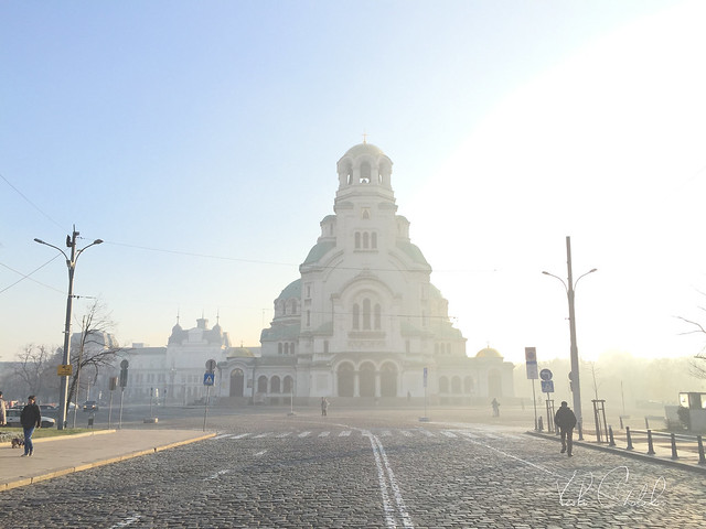 A December morning in Sofia